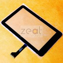5pcs 7'' For FeiPad M7 PD10 3g MTK6575 SD-07010V1FPC Tablet Touch Screen Digitizer Glass Black Color Free Shipping