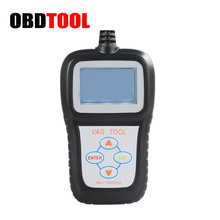 New Mini VAG505A Car Obd2 Code Reader Reads Erases Diagnostic Trouble Codes Works for Volkswagen and For Audi Scan Tool JC10(China)