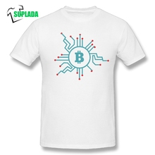 Buy Bitcoin CPU Circuit Diagram T-Shirt Funny Pure cotton Tee Shirts Men's T Shirts Plus Size Short Sleeve Crewneck for $11.52 in AliExpress store