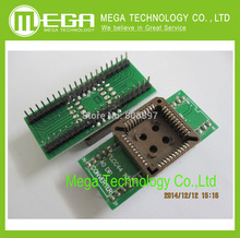 FREE SHIPPING PLCC44 to DIP40 EZ Programmer Adapter Socket IC Test Socket