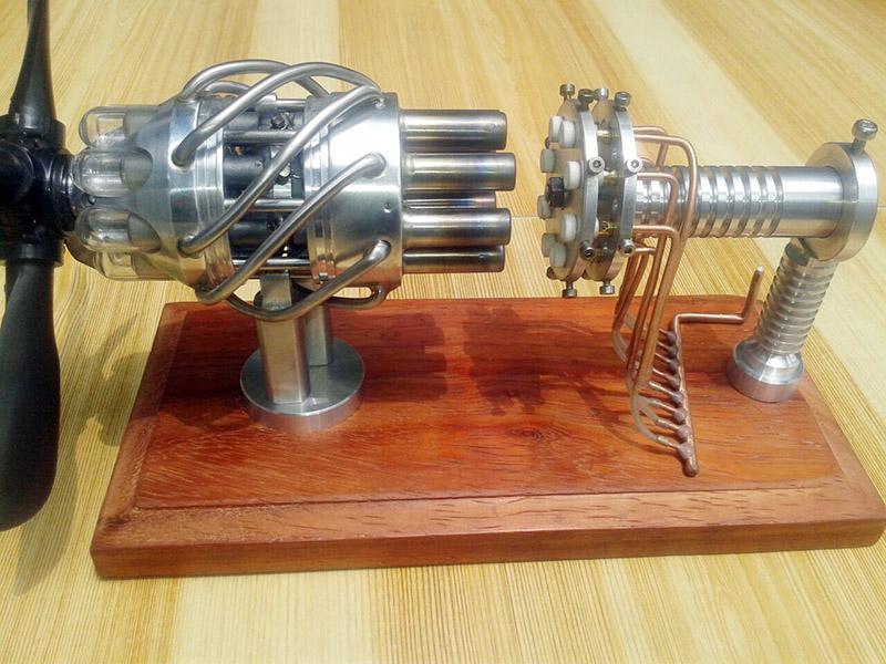 Stirling engine 9