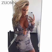 Club Dress Women Party Dresses 2017 Sexy Dress Backless Deep V Short Night Strap Boho Dress Mini Paillette Mini Vestidos G2