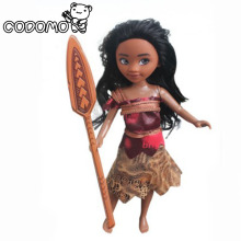 Movie Moana princess dolls action figure toys 2017 New Original Moana action figurine Oyuncak for kid party supply decor gift