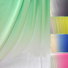 Knit Spandex Fabric Gradient Material For Dancing Dress Elastic Stretch Fabric for Latin Clothing Lycra Fabric(China)