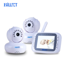 803502 2 Cameras video baby monitor 3.5 Remote Control Baby Phone Camera bebe Kids Monitor Video Intercom multiple baby camera