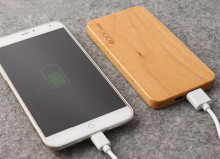 wooden power bank 4000mah Charging treasure suitable for iPhone ipad Android mobile charge phoneportable charger for mobile