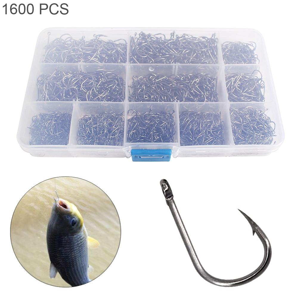 Mini Box New Fishing Sharp Hook Jig Barbed Fishing Tackle 3#-12# 50pcs Fishhook