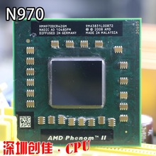 Free shipping Brand New Original N970 AMD Phenom cpu processor HMN970DCG42GM 638 pin PGA Computer Socket S1 2.2G