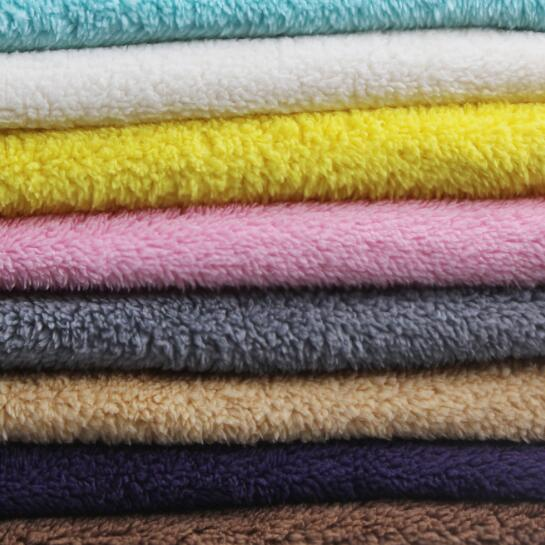 Thicken Sherpa Fleece Fabric Faux Fur Lining Sewing Coat Toys Crafts 100*160CM