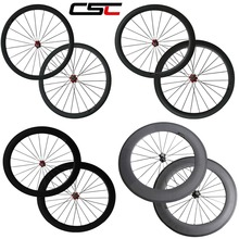 PONABET The most durable 700C full carbon fiber wheelset 24mm/38mm/50mm/60mm/88mm carbon wheels with Novatec hub from China