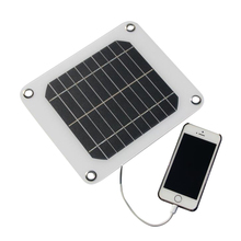 5V 5W Mini Solar Panel Module DIY Outdoor Power Bank Charger For Iphone samsung huawei phone mp3 mp4 battery Solar charger