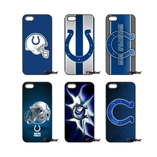 Indianapolis Colts Football Logo For iPod Touch iPhone 4 4S 5 5S 5C SE 6 6S 7 Plus Samung Galaxy A3 A5 J3 J5 J7 2016 2017 Case(China)