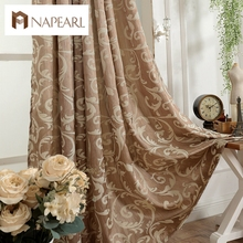 Luxury design kitchen door curtains bedroom curtain drape semi-blackout window blinds for balcony