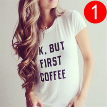 2017 Summer Women's T Shirt Korean Style Fashion Slim Basic t shirt Women New Letter Print Casual Clothes For Women Plus Size
