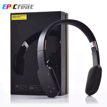 EPiCfeat Touch Screen Bluetooth Wireless Headphone Sport Headset CSR 4.1 MIC Sweatproof Big Headset for Mobile Phone PC LC-9600(China)