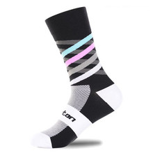 Men Sport Socks Bicycle Cycling Socks Running Outdoor Socks Compression socks Calcetines Ciclismo