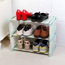 Shoe Cabinet Shoes Storage Organizer Thick Non-woven Fabric Shoe Racks Home Furniture DIY Simple Combined Shoe Shelf DIYRack