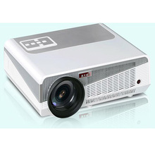 Poner Saund 5500Lumens Home Theater 1280x800 PC Multimedia 1080P HD 3D Video HDMI USB Portable LCD LED Projector proyector