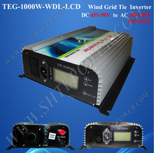 high quality 45-90v dc to ac 90-130v 190-260v 1000w wind tie grid inverter