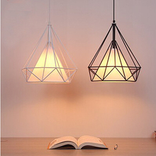Buy Wrought Iron Hanging Lights Bars Children's Pendant Lamps Nordic Lights Barbershop Tea Shop Hanging Lights Kitchen Decorate for $66.75 in AliExpress store