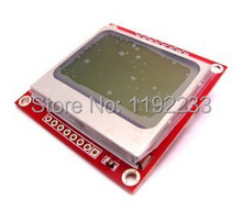 84X48 Nokia 5110 LCD Module Black Character with blue Background for 8 Bit AVR/PIC Projects