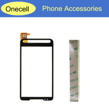 4.3inch For HTC HD2 T8588 T8585 Touch Screen Digitizer Black Color 3M Tape