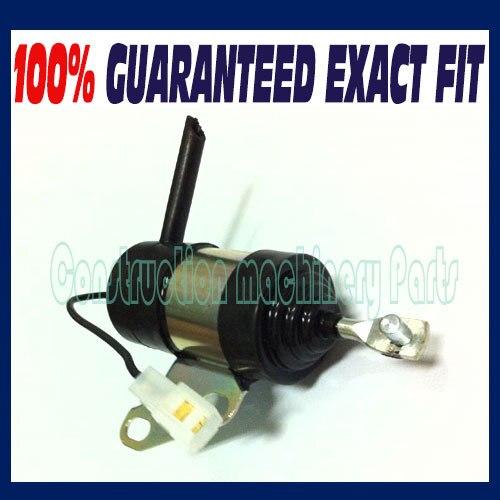 For Kubota Fuel Shut Off Solenoid 16851-60010/16851-60011/16851-60014, Denso 052600-4531<br>