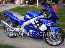 Hot Sales,2002 2003 2004 2005 2007 Yzf600r fairing For Yamaha Yzf 600r Thundercat 1997-2007 Blue and White Sport Bike Fairings