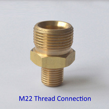 M22 Adapter for Foam Nozzle/ Foam Gun/ Foam Generator/ High Pressure Soap Foamer for Kranzle Thread Connection(China)