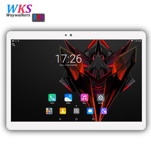 3G 4G Phone call dual SIM card Android 7.0 octa core 10.1 inch tablet pc 4GB+32/64GB 1920*1200 IPS GPS WIFI tablets pcs 10 10.1(China)