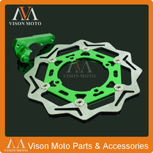 CNC 270MM Floating Brake Discs+Bracket For Kawasaki KX125 KX250 06-08 KX250F KX450F 06-15 KLX450R 07 08 09 10 11 12 13 14 15(China)