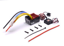 Hobbywing QUICRUN Series 860 Waterproof Brushed ESC 60A with 5V/3A Linear Mode BEC for 1/8 RC Car