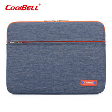 CoolBell Laptop Sleeve Case 11 12 13.3 14 15.6 17.3 inch Notebook Bags Protective Laptop Bag for ipad,Tablet, for MacBook