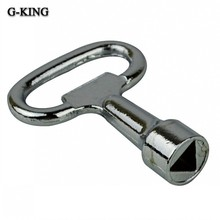 Triangle key machine key triangle key box lock(China)