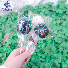 100pcs 8*11.5cm Cookie Biscuits Food Bag Snack Baking Candy Bag For Wedding Event&Party Favor Gift Box Package
