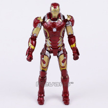 Crazy Toys Iron Man Mark XLIII MK 43 1/12 th Scale Collectible Figure