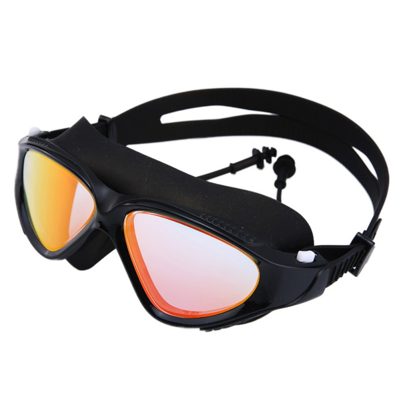 Goggles Professional Children Silicone Swimming Goggles Anti-fog UV Swimming Glasses for Men Women Eyewear 30