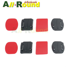 SHOOT action camera Sticker Double Side Flat Surface Base With Imported Red Gum For Gopro Hero 2 3