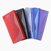 Soft TPU Silicone Rubber Transparent Cover Case For Sony Xperia X Compact Mini F5321 Mobile Phone Cases Shockproof Gel Skin