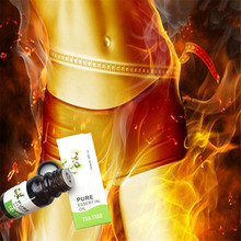 1 bottle Chinese formula Tea tree Fat Burner Essential oil Detox Body cellulite weight loss fat slimming(China)