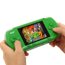 "Portable RS-2A Handheld Game Players 3.2"" Video Game Console For kids 300 Classical Game Double Handle External Support AV Port(China)"