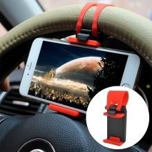 New year Promotion Universal Phone Holder Car Wheel Adjustable Rubber Band  Hand free Accessories Car Styling For phones