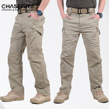 IX9 Tactical Men Pants Combat Trousers Army Military Pants Men Cargo Pants For Men Military Camouflage Style Casual Pants XXXL(China)