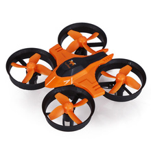 FuriBee F36 Mini UFO Quadcopter Drone 2.4G 4CH 6-Axis Headless Mode Remote Control Toys Nano RC Helicopter RTF Mode2