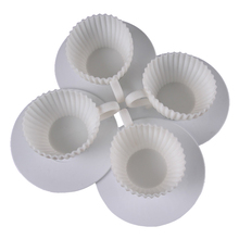 4pcs Silicone Cupcake Cups Cake Mold Muffin Baking Mould Chocolate Tea Cup Case