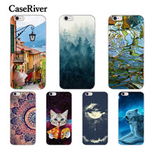 "CaseRiver PARA iPhone 5 5S SE 6 6 S 7 Plus 8X4.7 ""5.5"" Case, Silicone macio Phone Cases Capa Para o iphone 6 S 6 Mais 5 S E 7 X Mais(China)"