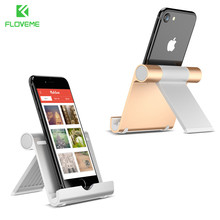 FLOVEME Phone Table Holder For iPhone 7 6 6s Plus 5 5c 5S For iPad Air Mini Aluminum Stand Support For Xiaomi Huawei HTC Phone