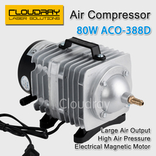 80W Air Compressor Electrical Magnetic Air Pump for CO2 Laser Engraving Cutting Machine ACO-388D