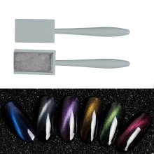 One Strip Magical Magnet Sticker For Cat Eye UV Gel Polish Women Nail Art Manicure Tool 3D Effect New