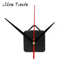 DIY Quartz Wall Clock Movement Replacement parts High Quality Quartz Clock Movement Mechanism with Hook DIY Repair Parts + Hands(China)